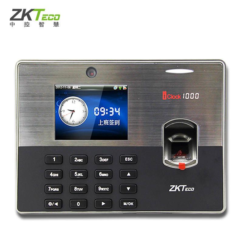 zkteco/中控智慧iclock1000考勤机指纹 门禁机高端定制打卡机