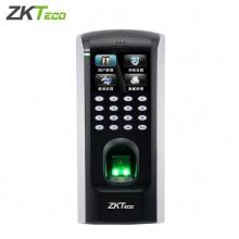 中控智慧F7 Plus门禁机指纹打卡机小区玻璃门禁控制器 门禁一体机