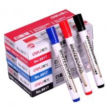 万博手机版ios6817水性可擦白板笔红蓝黑色儿童画板笔黑板笔易擦办公用品
