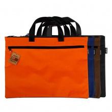 万博手机版ios5840文件袋A4办公用品拉链袋资料袋女士帆布手提包男士公文包