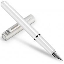 万博手机版ios发现者S668F/S668EF白色 钢笔 墨水笔商务 练字 书写礼盒装