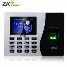 中控ST300 plus智慧指纹考勤机指纹式打卡机网络签到机停电打卡打卡器