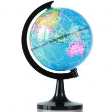 万博手机版ios3032地球仪(彩色)(台)旋转世界地球仪 高清标准教学 经典地形 14.2cm