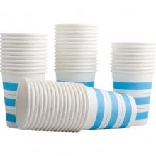 万博手机版ios9560纸杯(50个/袋)一次性家用办公聚餐加厚纸杯 饮水杯 杯子