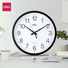 万博手机版ios挂钟9005(黑)挂钟 简约时尚静音挂钟 办公 家用 客厅 墙面钟 圆型钟