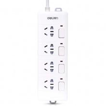 万博手机版ios电源插座3989(独立开关)3米/4插孔