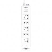 万博手机版ios电源插座18252(白)2米(3个3孔/2个2孔)