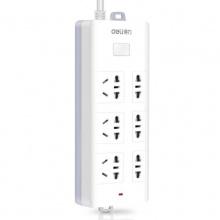 万博手机版ios电源插座18256(白)3米(3+3组合插孔)