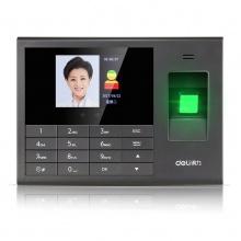 万博手机版ios3765人脸指纹考勤机上班指纹式签到机刷脸面部人脸识别指纹打卡机