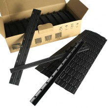 装订夹条压边条十孔压条梳式打孔机装订条3mm5mm办公用品批发